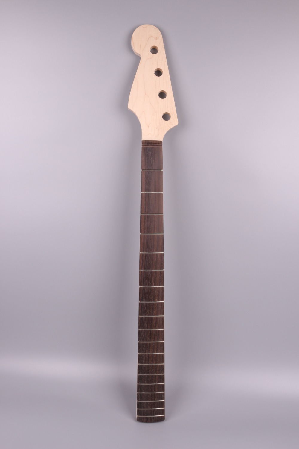 maple electric BASS Guitar Neck 19 fret 34  hand made For Electric guitar unfinished