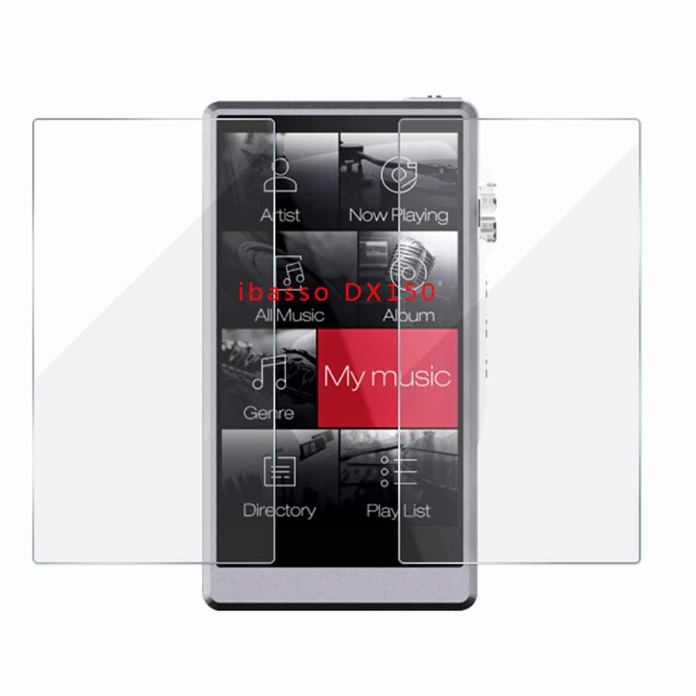 9H Premium Protective Tempered GLass for IBASSO DX150 Scratch-Proof Screen Protector Front Film for IBASSO DX200 Case
