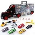 Бесплатная Доставка Грузовик Cars Пластиковые Модели Сплава Игрушки Автомобиля Проезд Детей Обучающие Toys Имитационная Модель Подарок Для Мальчиков