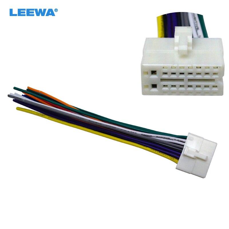 HTB14PEGahsIL1JjSZFqq6AeCpXa6 car 16 18pin power speaker wire stereo radio wiring harness