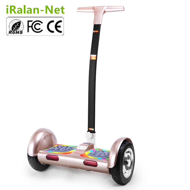 2 Wheel Electric Standing Scooter TT Smart Balance Wheel Hoverboard Car Magnesium LEDs Bluetooth Speaker