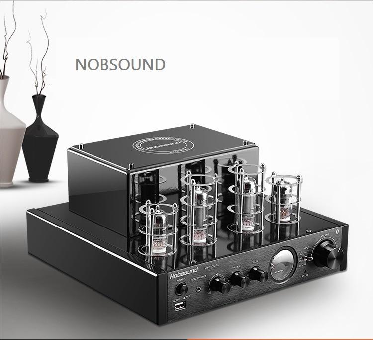 NOBSOUND top selling MS-10D tube amplifier HIFI EXQUIS 6n1 6p1 lamp amp MS10D
