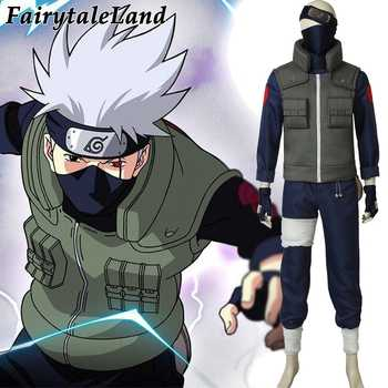 Hatake Kakashi Cosplay Costume Christmas Halloween Costumes Cosplay Naruto Suit Hatake Kakashi Costume - DISCOUNT ITEM  37% OFF All Category