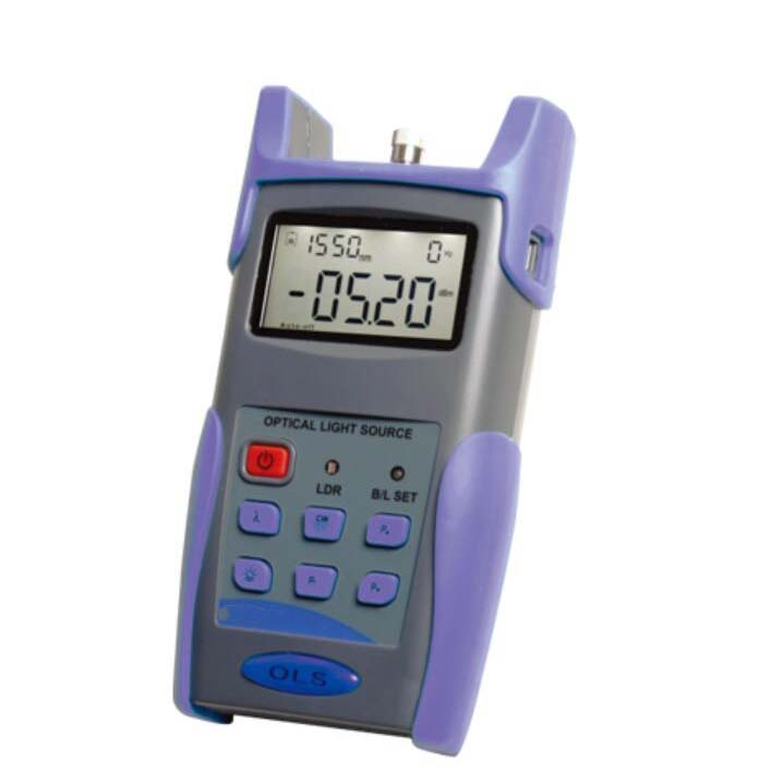 FirstFiber FF-3116C 1310/1490/1550nm Light Source, Output Power -5 to -12dBm, Step 0.5dBm, with FC SC ST Connectors