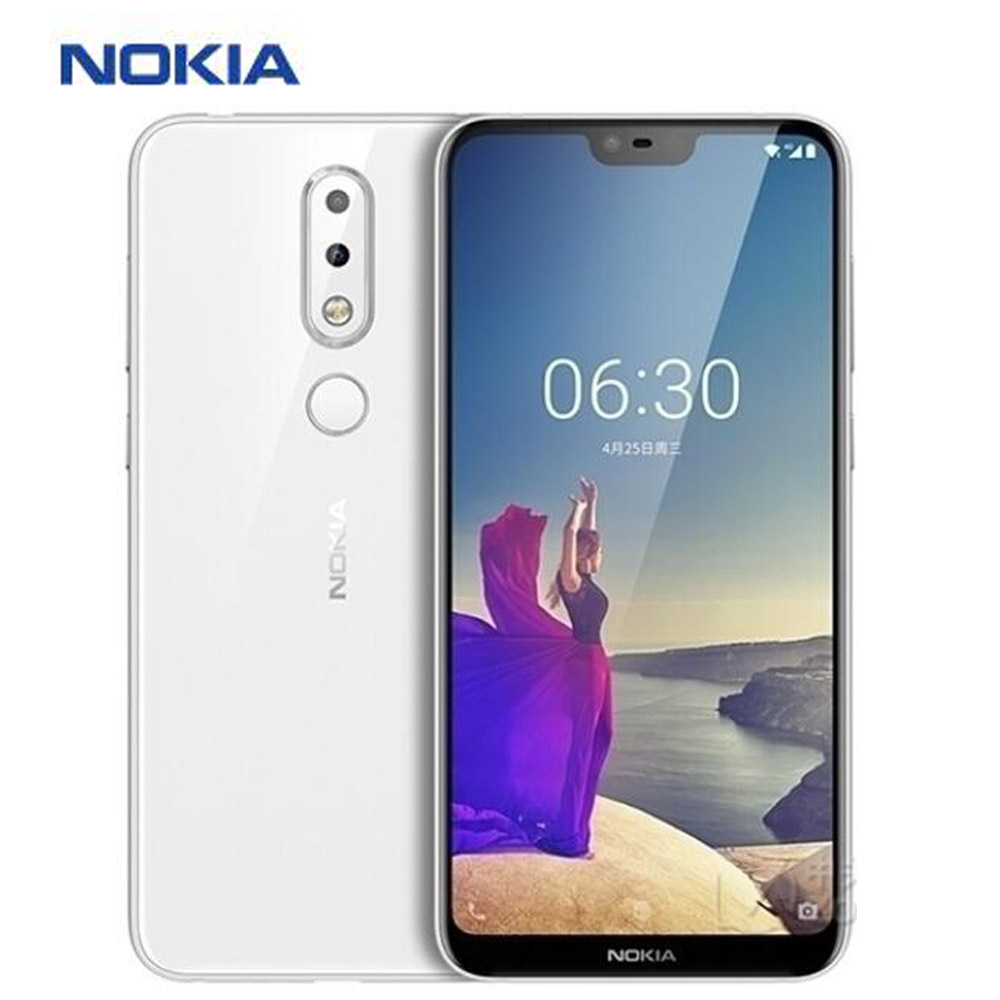 """Brand New Nokia X6 Mobile Phone LTE 4G 5.8"""" Snapdragon636 Octa Core 4GB RAM 64GB ROM 16MP 5MP Fingerprint Android 8.1 SmartPhone"""