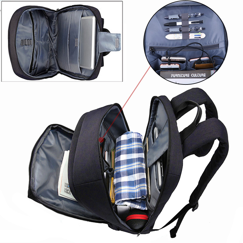17 polegada laptop bolsa dos Bag Backpack Measurements : L 30 * H 42 * W 17 CM