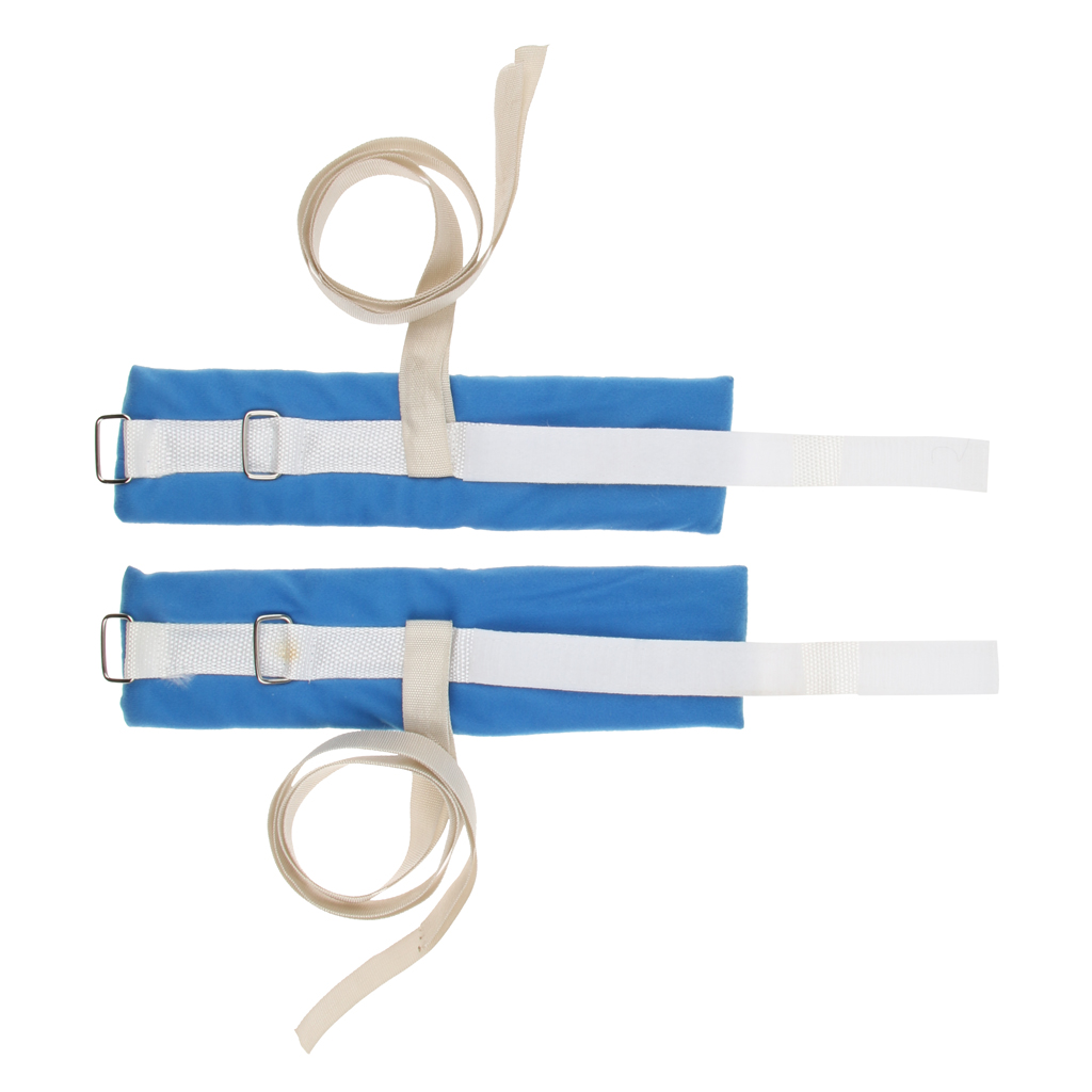 2Pcs Wrist Arm Ankle Hand Restraint Strap Limb Holder for Fixing Patients Prevent From Scratch