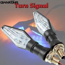 Motorcycle Accessories New 12V Universal LED Turn Signal Light Indicators Amber Blinker Flashers Lighting
