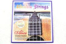 Alice AU043 Ukulele Strings Clear Nylon 1st-4th Wholesales Free Shippng