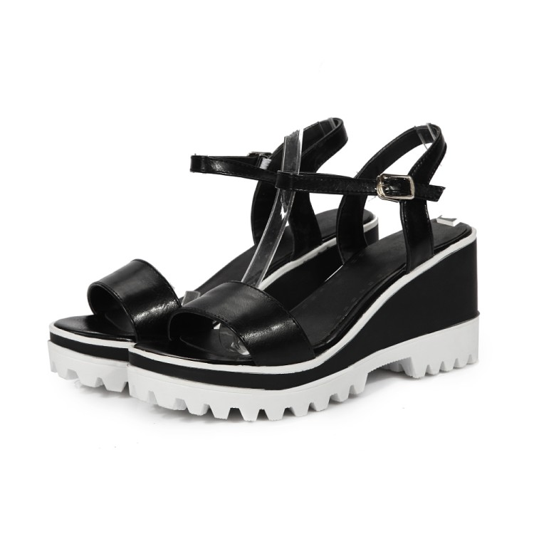 Women Shoes Sandals 2017 Platform Sandals Sapato Feminino Summer Style Summer Shoes Chaussure Femme Wedge C-7 rome style women sandals 2018 new arrivals fashion summer platform shoes fresh wedges sandals women shoes sapato feminino
