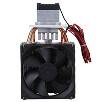 Brand New Household Thermoelectric Peltier 72W Cooler Refrigeration Semiconductor Cooling System Kit Cooler Fan Finished Set