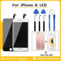 Black White Color LCD Display Touch Screen Replacement LCD For IPhone 6 AAA Quality No Dead