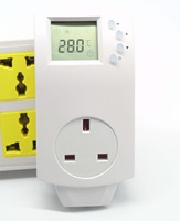 10A 230V Switchover Plug In UK THERMOSTAT With Radiant Floor Heating Thermostat