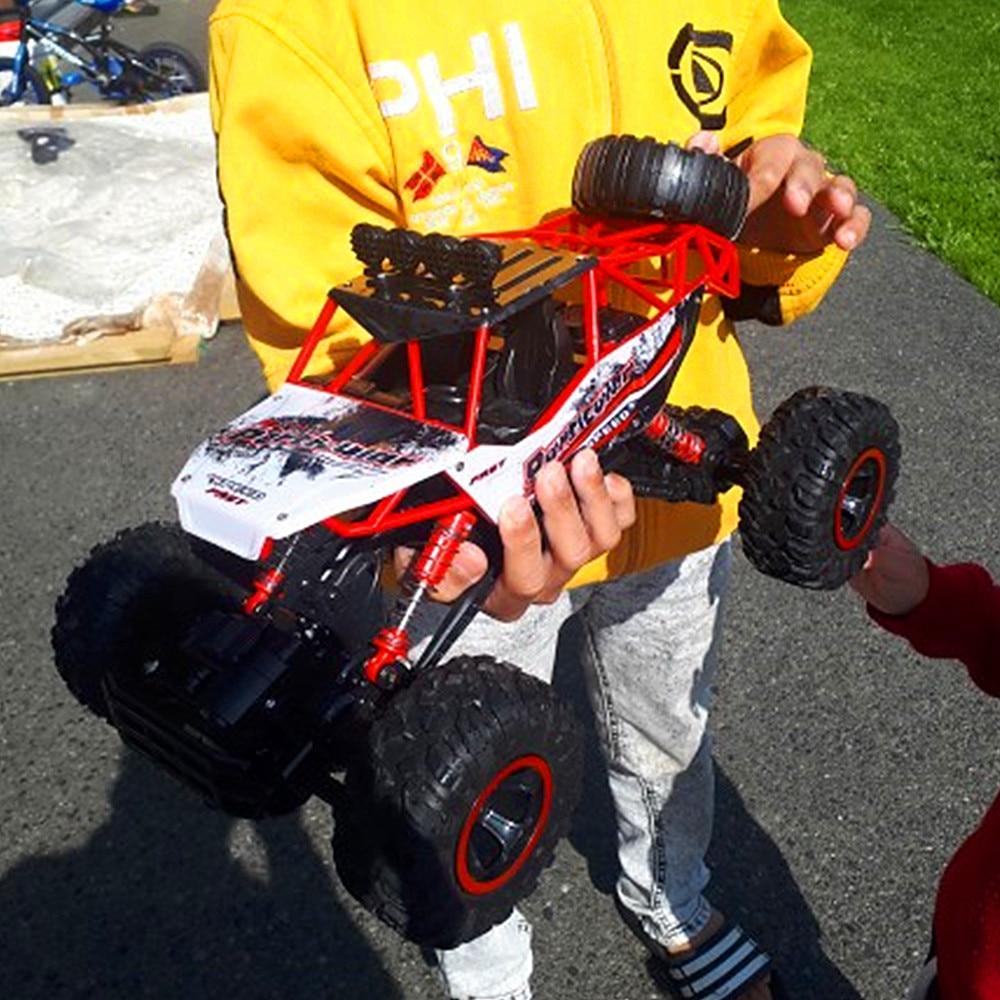 Fernbedienung Spielzeug Rc Auto 2,4g 4ch Rock Crawler Fahren Auto Stick Bigfoot Auto Fernbedienung Auto Modell Offroad Fahrzeug Spielzeug Wltoys Traxxas Rc Drift Rc-autos