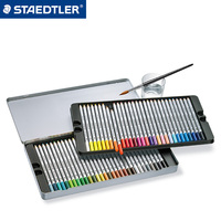 Staedtler Water Soluble 12 24 36 48 60 Color Pencils Drawing Pencil Sketch Painting Iron Box