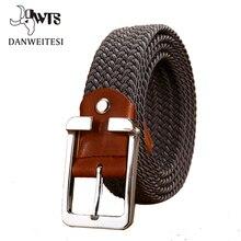 [Dwts] унисекс, парусиновая Тактические пояса высокое качество военные ремни для мужчин и женщин Роскошные Патриот ремень для джинсов кожаный ремень
