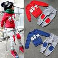 2017 NEW Autumn Baby Kids Boys Finger Games Sport Tracksuits 2pcs Outfit Sets 2-7Y