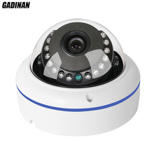 "H.265 gadinan poe kamera ip 2mp 1080 p kamera wandaloodporna metalowa kopułka hi3516d + 1/2. 7 ""ar0237 onvif ip kamera standardowy poe 48 v"
