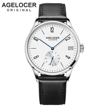 2019 AGELOCER Men Watches Swiss Men s Role Watch Automatic Luxury Famous Brand Business Gift Analog