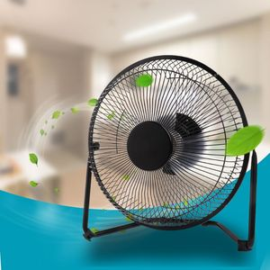 """Image 5 - LILENG 6"""" 8"""" 10"""" Large Black All Metal Electric Rotating USB Powered 18650 Battery Powered Desktop Fan 100% brand new and high q"""