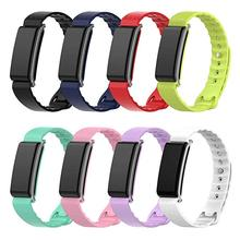 Colorful Soft Silicone Replacement Bracelet Band Wrist Strap For Huawei Honor A2 Smart Watch 8 Colors