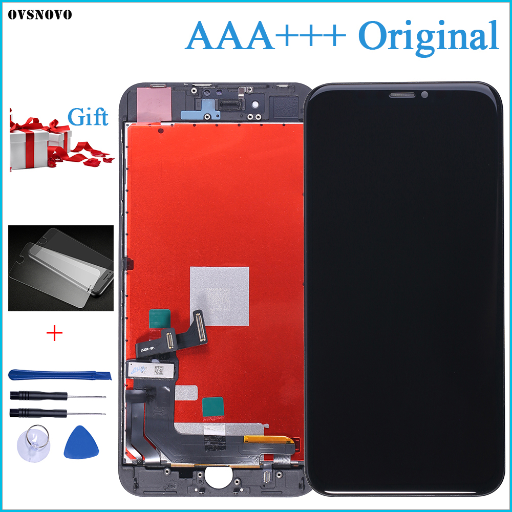 2018 100% AAA+++ Original LCD Screen For IPhone 8 Plus Screen LCD Display Digitizer Touch Module 8 Screens Replacement LCDS