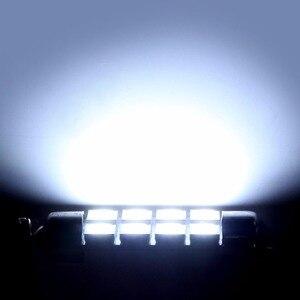 Image 4 - Vends 10 pièces 42mm 8SMD 6500K voiture lumière intérieure Festoon LED carte intérieure dôme porte lumières ampoules 211 2 578 couleur blanc