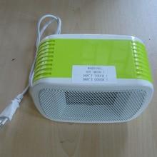 MinF01-7,, 500 Вт, маленький портативный электрический вентилятор, мини настольный нагреватель, нагрев сразу же при включении, Европейская VDE вилка