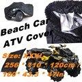 Nuevas adquisiciones 2016 a prueba de agua cubierta de ATV Quad Universal de la bici de protección 1 unids negro plata envío gratis playa ATV coche cubierta