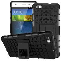 For Huawei P8 Lite Case Heavy Duty Armor Shockproof Hybrid Hard Soft Silicone Rugged Rubber Phone Case Cover For P8 Lite