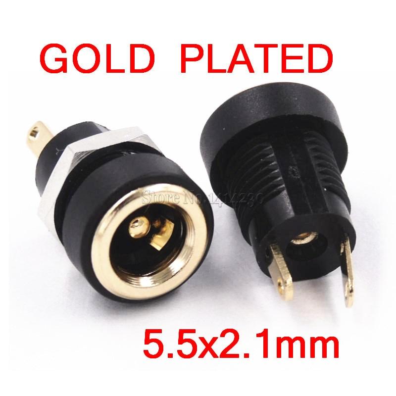 5 X 2,5 mm cuadrados Socket De Alimentación Dc Plug Conector Jack