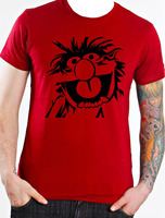 Animal The Muppets T Shirt New Funny Clothing Short Sleeves Cotton T Shirt Unique Mens Tshirts