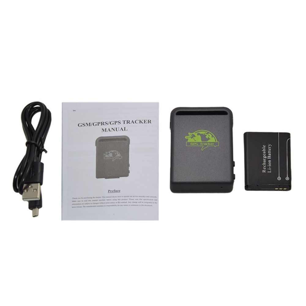 Мини-размер gps транспортных средств автомобилей трекер устройства gps SMS GPRS SOS для IOS App W/пульт дистанционного управления Встроенный датчик удара