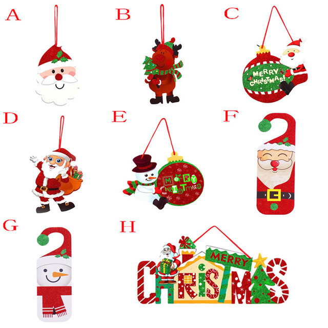 3D Romantic Xmas String Hanging Charm Party Decoration Christmas Tree  Ornament Wholesale Free Shipping 4RC26 - 3D Romantic Xmas String Hanging Charm Party Decoration Christmas