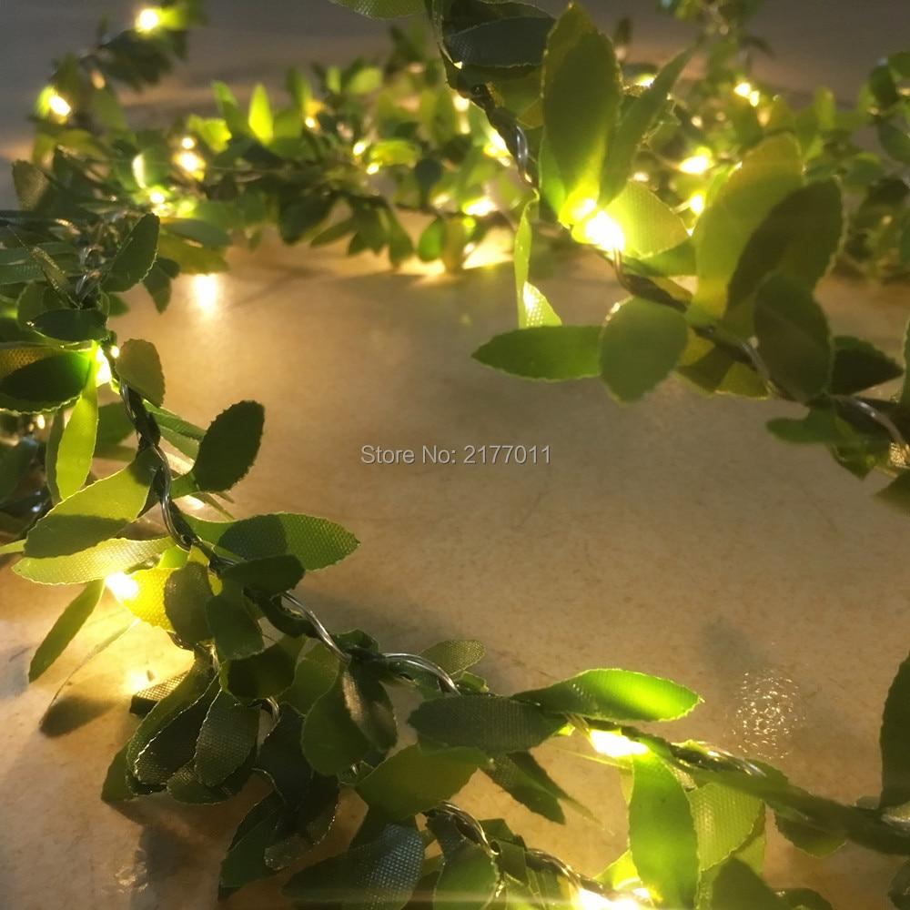 IP65 Χειροποίητο 5M 50 LED φύλλο γιρλάντα - Φωτισμός διακοπών - Φωτογραφία 3