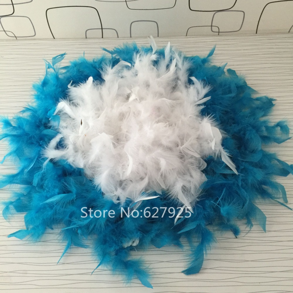 Free Shipping 2yards Wedding Centerpieces Turkey Feather Strip