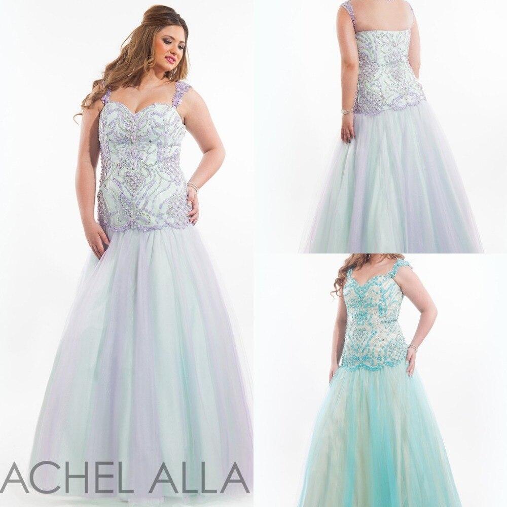 Rachel allan plus size dresses