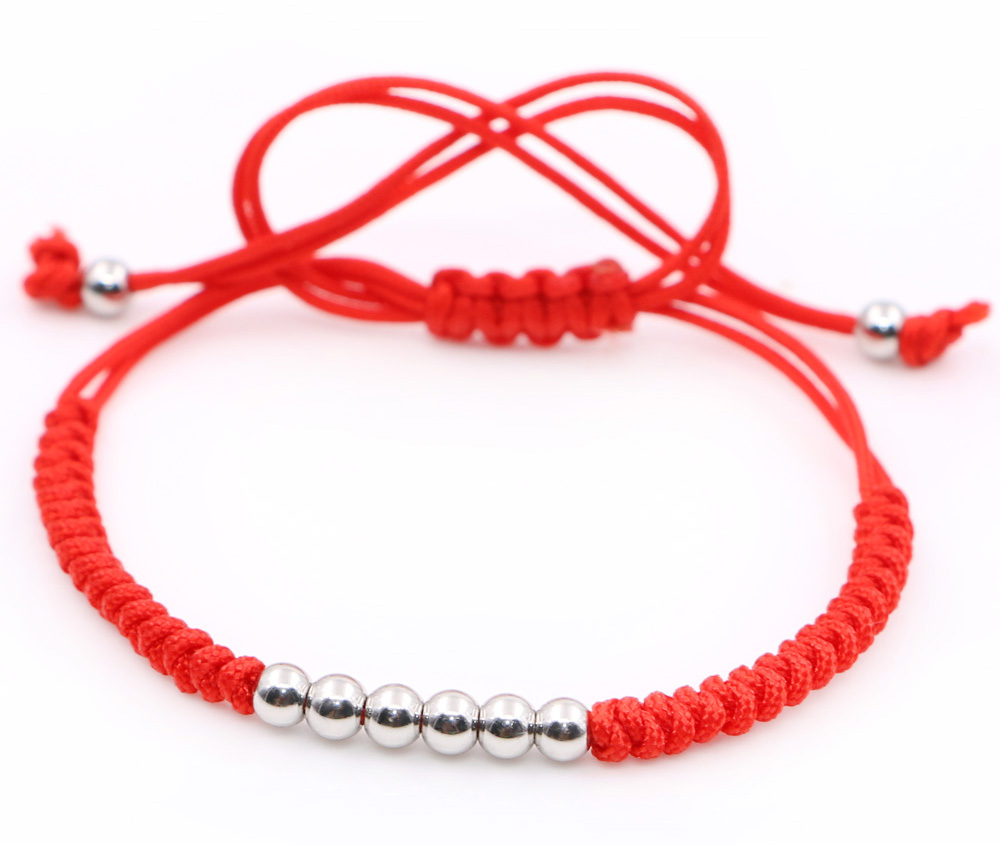 Anil-Arjandas-Male-Bracelets-4mm-Round-Bead-Handmade-Macrame-Gift-Men-Braiding-Macrame-Bracelets-Silver-Beads -