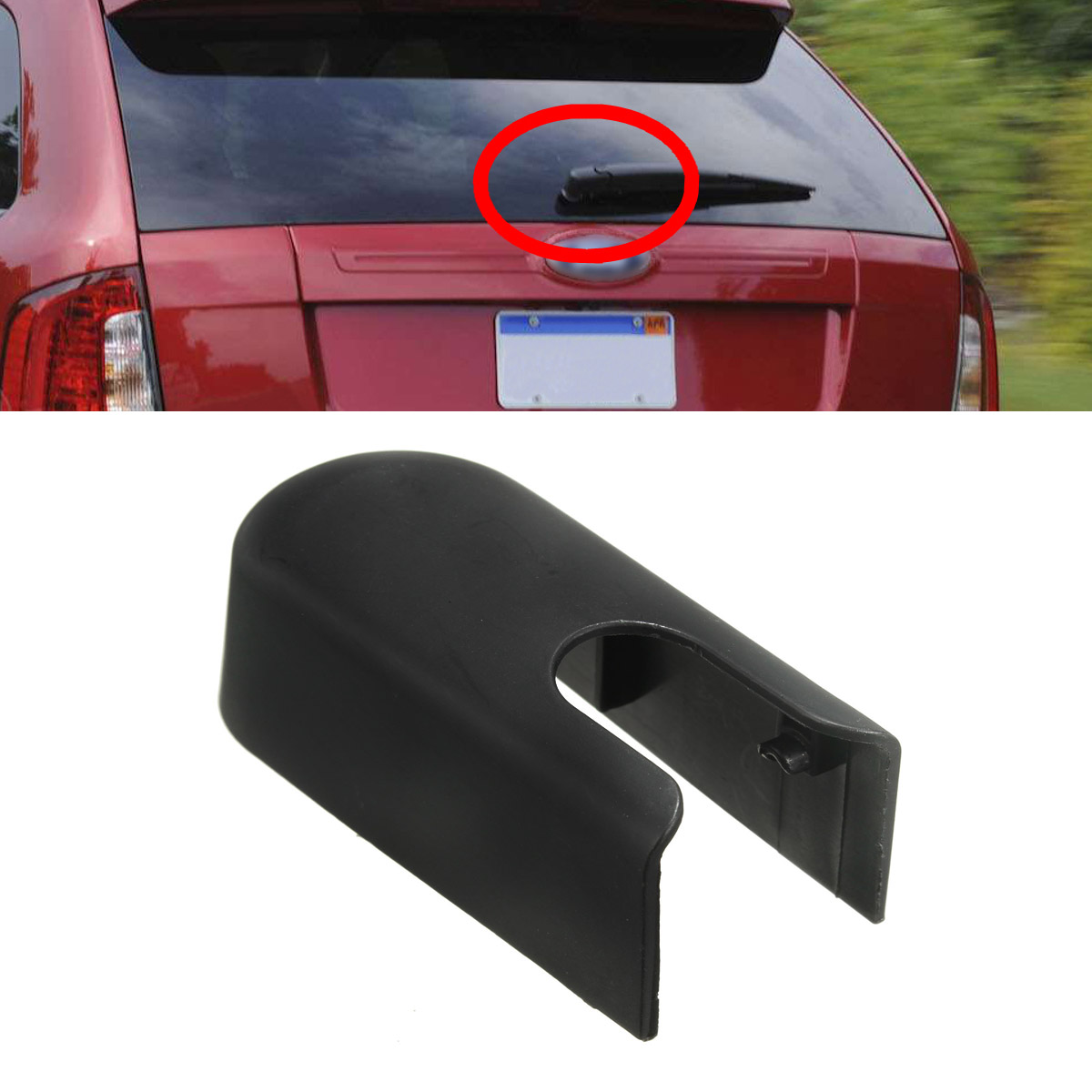 Newest For Ford For Edge For Lincoln For Mkx Rear Window Wiper Arm Cover Plastic Cap Tz C B In Windscreen Wipers From Automobiles Motorcycles On