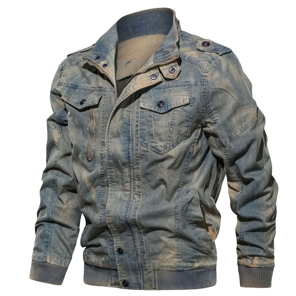 New Men's Denim Jacket 4XL 5XL 2019 Fashion Retro Male Clothing Streetwear Casual Jacket Coat Men Brand Slim Fat Outwear BY2701