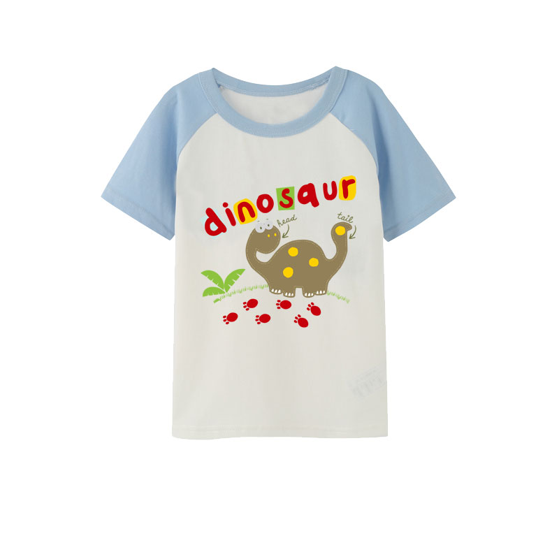 Jurassic dinosaur patches iron on transfer for clothing ironing stickers kid boys clothes patch transfert thermocollants t shirt in Patches from Home Garden