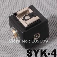 GAVIOTA SYK-4 Flash Remoto Disparador Controlador PC Sensor de Zapata para Canon Nikon