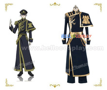 07 Ghost Ayanami Cosplay Costume Uniform H008(China)
