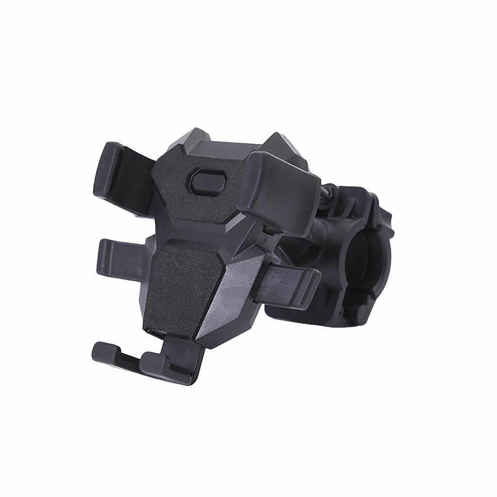 Mobile Phone Bracket for Bicycle Road Mountain Bike Navigation Cellphone Holder Mobile Cell Phone Holder #D