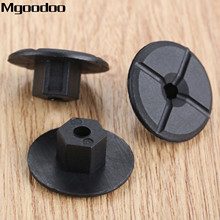 Mgoodoo 20pcs 4mm Car for Fender Mud Flap Splash Guard Wheel Arch Bumper Panel Fastener Clip Fit For Mercedes K90