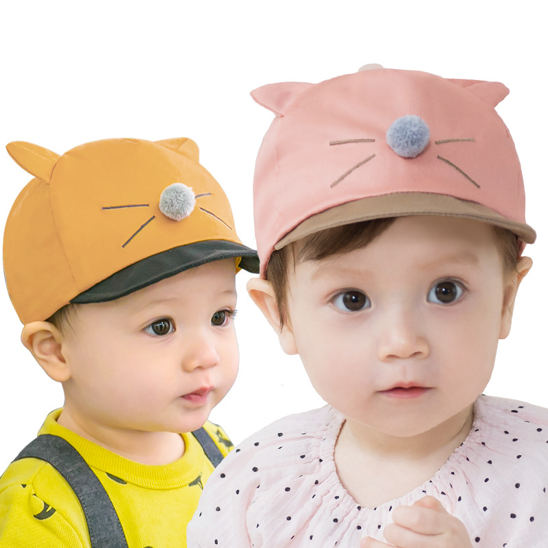 Lemonkid/® Baby Hat Cartoon Pikachu Baseball Cap for Parent /& Baby Flat Hip-hop Hat