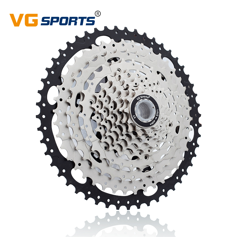 11 50T cassette 10 speed mtb bicycle freewheel sprocket cdg 50T cog velocidade mountain bike freewheel