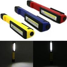 New COB LED Pen Light Pocket Torch Clip Magnet Work Inspection Lamp Flashlight CLH