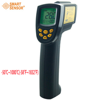 Smart Sensor AR862D+ Digital IR Laser Point Gun non contact Infrared Thermometer