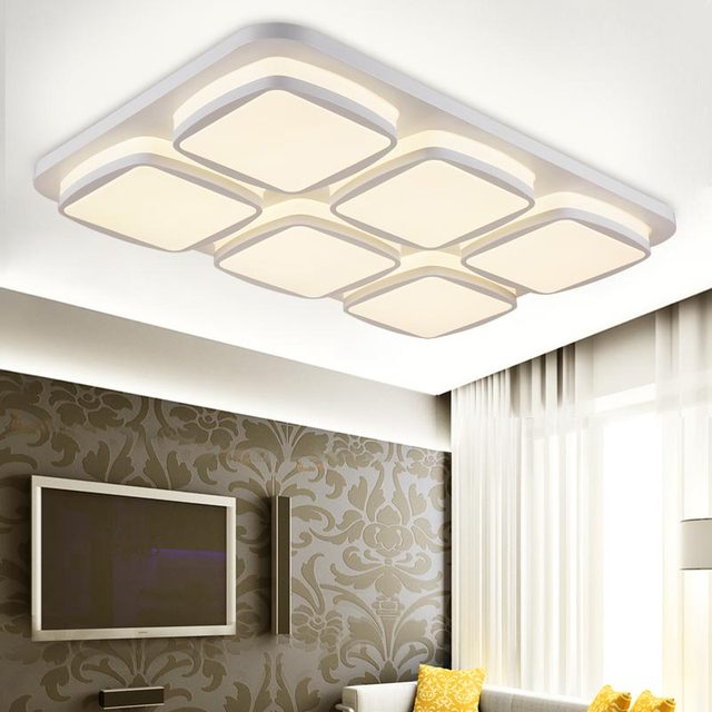 12 w led lampe moderne grand plafond luminaires chambre salon